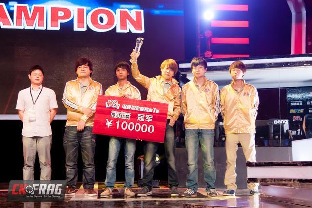 2012年首届K1电视职业联赛Tyloo再夺冠军