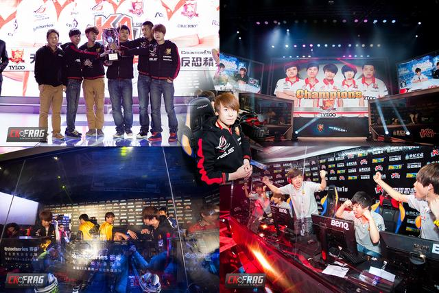2011-2013年Tyloo拿下五届K1比赛的四届冠军