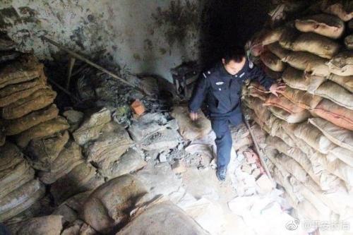山西侦破盗掘古墓使用挖掘机盗墓这也太猖狂了吧现已被抓获