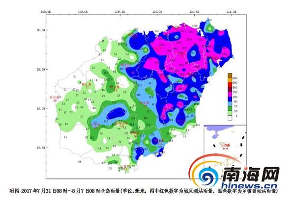 新闻资讯  人工增雨方面:未来一周,海南岛的北部和西部内陆地区午后有