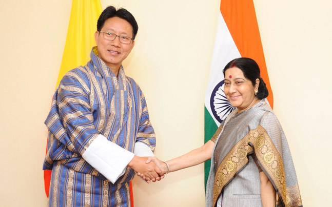 不丹外长今会见印度外长 首就中印对峙表态(图)