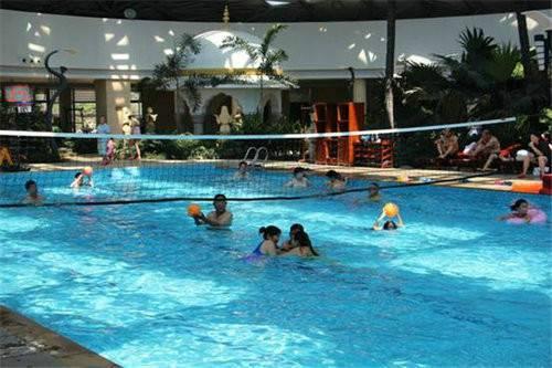 尧山福泉水上乐园暑期第二季水球大战来袭