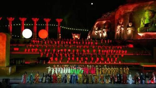 震撼人心的视听盛宴中国首部大型实景史诗剧《武则天》完美回归