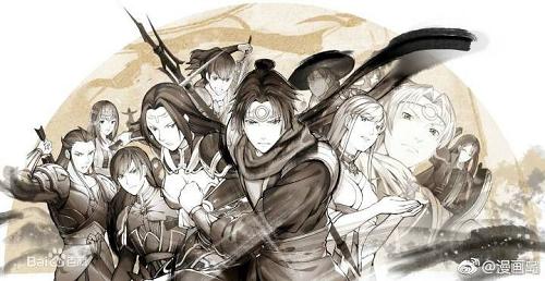 漫画版、小说版《轩辕剑之汉之云》:十年英雄