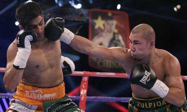 中印拳击赛印度拳王获胜弃金腰带 欲换边境和平