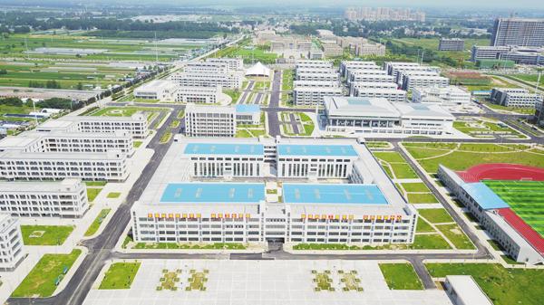 蚌埠职教园下个月正式开园 6所职业院校将首批入园