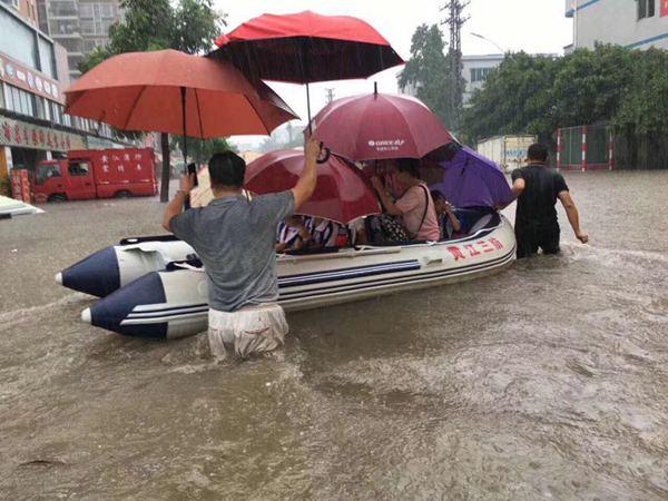 玛娃影响趋于结束西南多雨防地质灾害