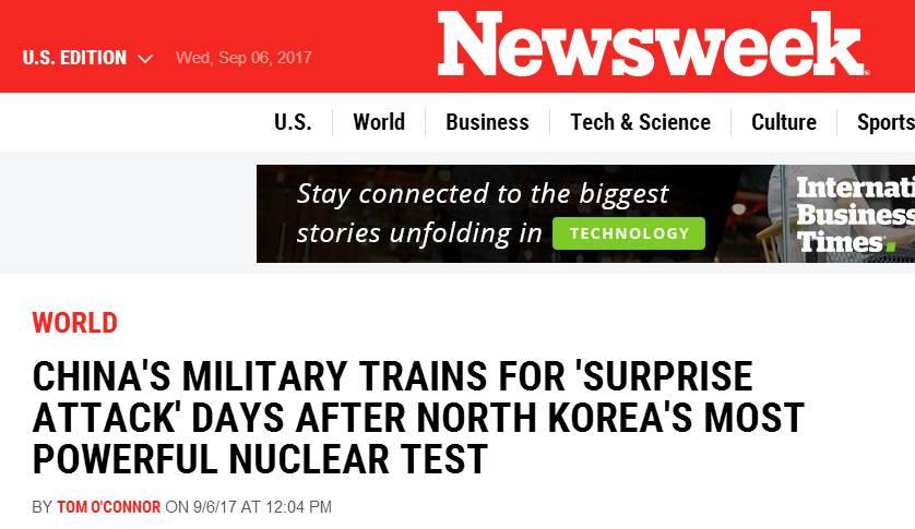 """中国在朝鲜周边演练""""拦截导弹""""?媒体为何过 retba湖"""