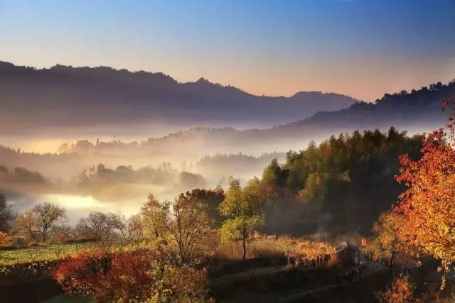 如果你没在秋天去过徽州 就辜负了真正的画中古村