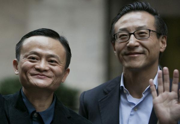 马云与蔡崇信拟减持阿里股份 可套现近40亿美元