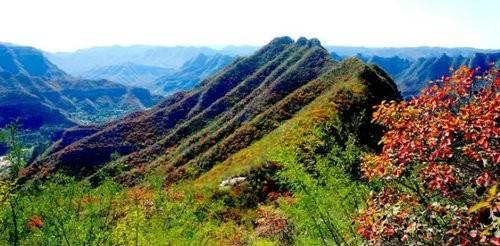 赏美景品美食美景和美食在青天河缺一不可