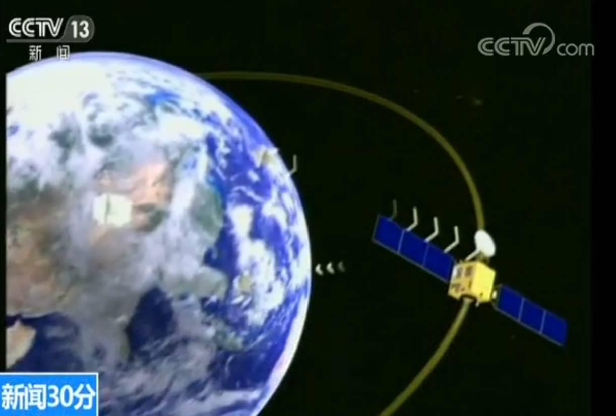 35颗卫星3重天网,中国这个全球定位系统厉害(图)