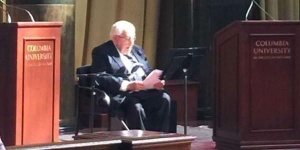 9 9月26日,基辛格在纽约一个智库论坛上就中美关系发表演讲。