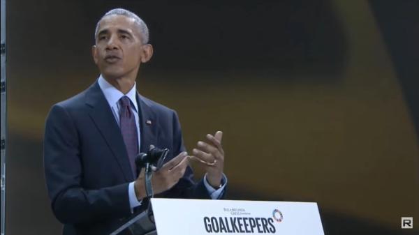 拿什么改变这个世界?奥巴马告诉女儿一个出人意料的答案