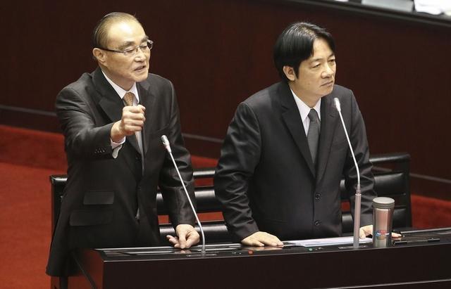 """台当局""""国防部长"""":我们为保卫这块土地而战非为""""台独""""而战"""