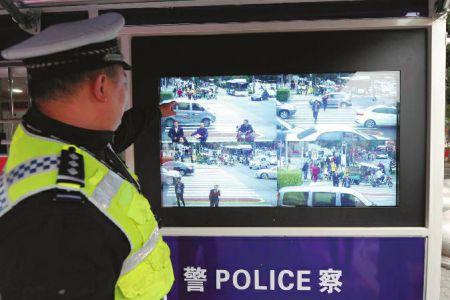 西安:行人闯红灯将被曝光大头照