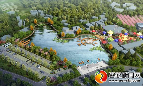 章贡 峰溪山水田园小镇预计年底建成 村民土地入股享分红
