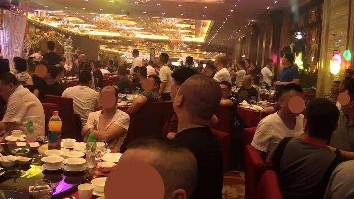 """深圳:142人涉黑团伙婚礼现场被""""一锅端"""""""