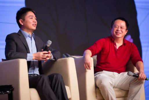 刘强东周鸿祎两个段子手相遇,谈脸盲、谈投资、谈创业、谈颠覆、谈失去