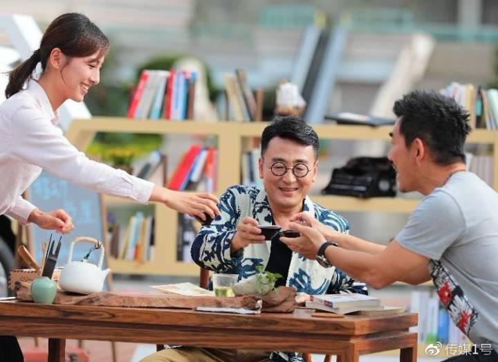 窦文涛、张星月、任贤齐在泉州录制《一路书香》节目