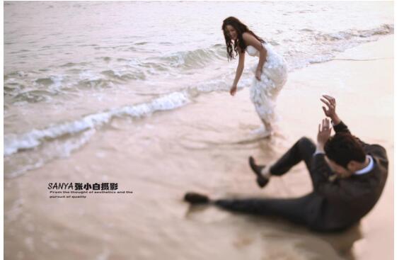 """工作室拍韩式婚纱照""""6要素""""三亚婚纱摄影哪家好?"""