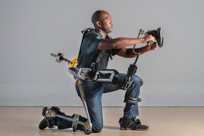 有了这款外骨骼机器 士兵进化为超级战士成现实