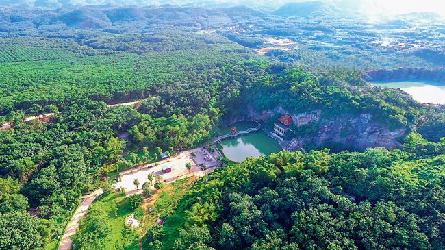 蓝洋温泉国家森林公园入选全国森林康养基地试点建设单位