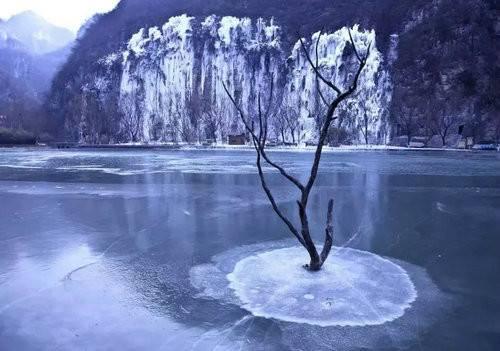 赏美景品美食到青天河来一场与冬天的约会