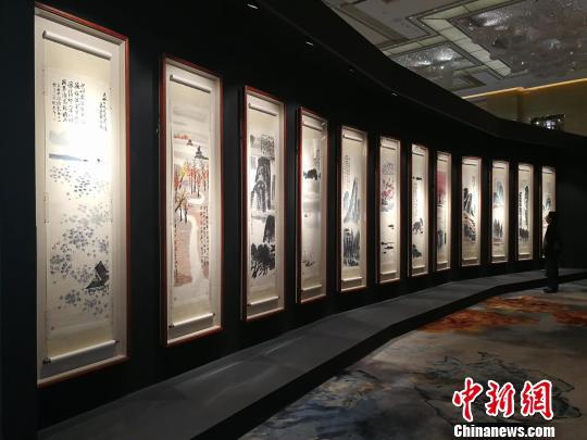 齐白石《山水十二条屏》即将上拍或创中国艺术品拍卖纪录