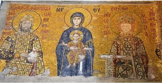 圣索菲亚大教堂壁画