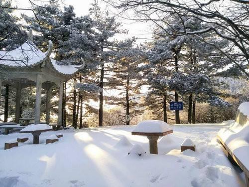 赏雪景、观雾凇、看冰挂尧山景区面向全国免门票