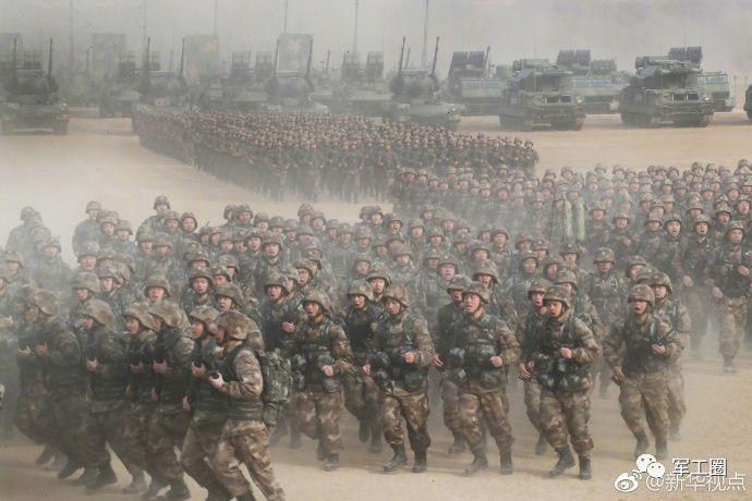 解放军提高战备状态,准备作战的目标显现……