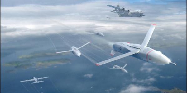 中美争相发展无人机蜂群技术 抢夺未来战场制高点