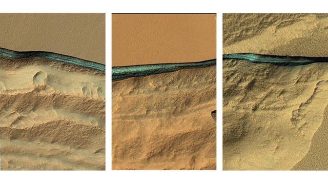 NASA宣布火星上发现八处浅层水源