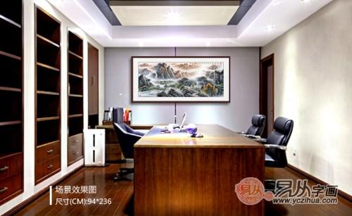 刘海青画家简介 手绘山水国画作品赏析