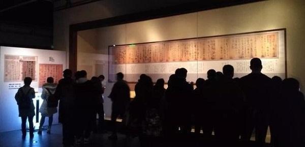 辽宁省博物馆拿出了最接近王羲之真迹的《姨母帖》