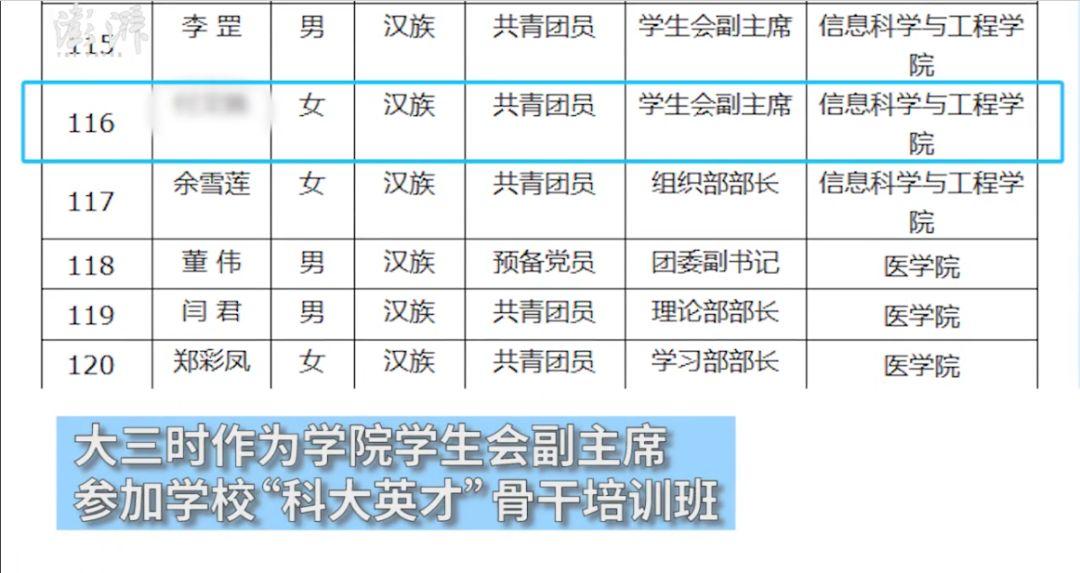 武汉25岁女孩被护栏卡脖身亡:研究生学霸,已找到工作