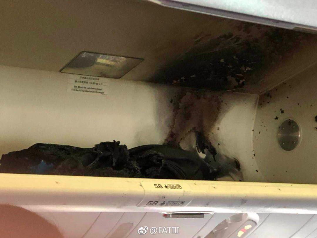 飞机上充电宝突然起火!空姐这样灭火让网友吵翻了-万卷论坛-万卷网