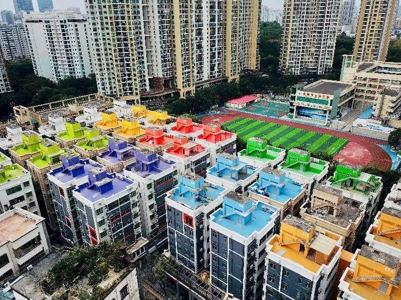 水围外店_深圳水围村农民房改建的人才公寓