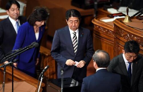 日本森友学园丑闻曝新料 安倍或因此断送政治前途