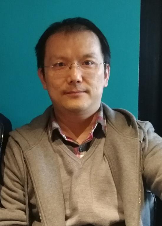 中央美术学院造型基础部副教授贺羽(本人供图)