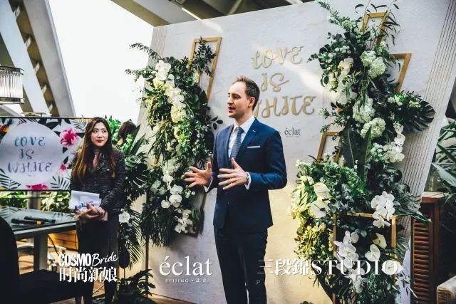 时尚新娘北京怡亨酒店LOVE IS WHITE沉浸式新娘互动沙龙