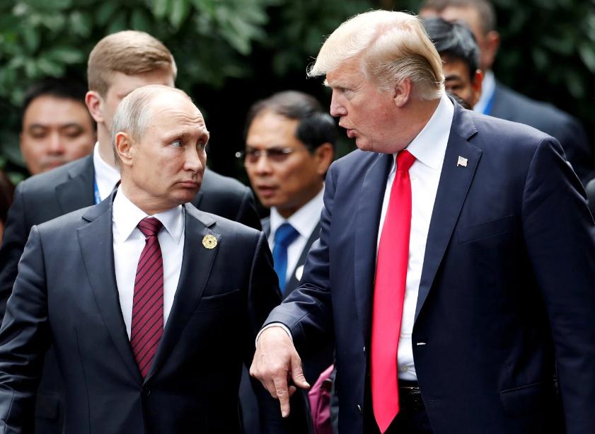 美国推迟公布对俄新制裁措施 特朗普:我再想想