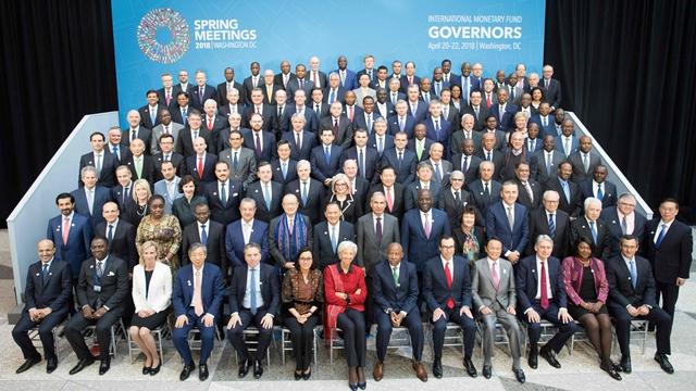 IMF与世界银行春季会议
