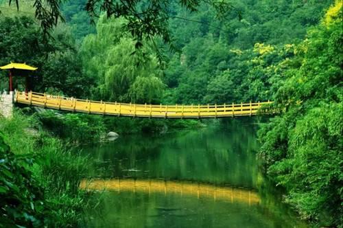 五一小长假到洛阳神灵寨风景区养眼,养生,养胃