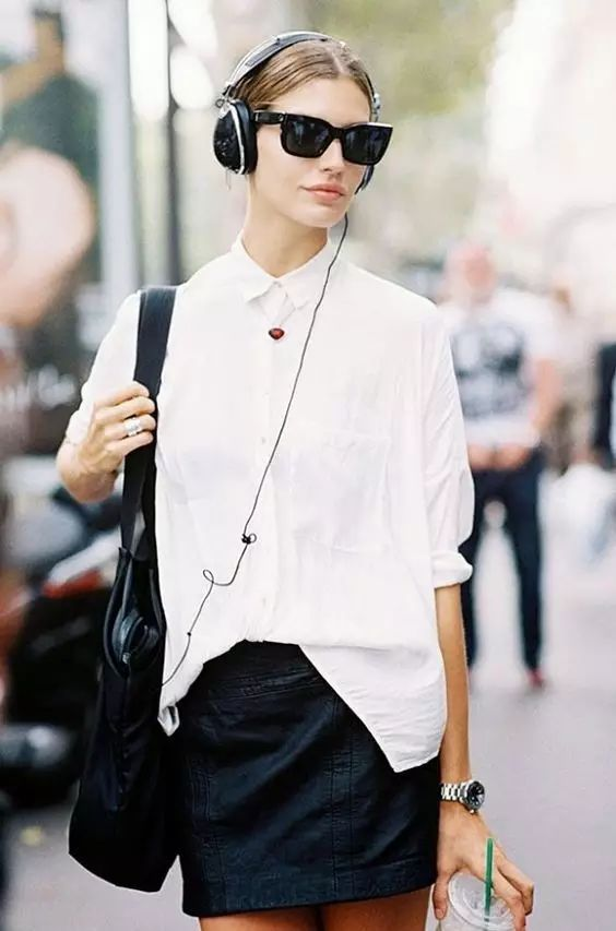 一件最简单的白衬衫,为什么有的看起来就那么高级?