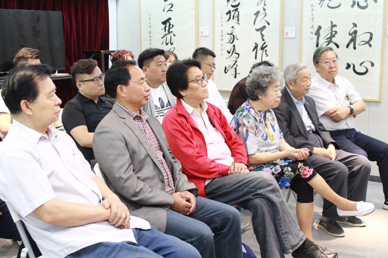 江苏泰州籍书法艺术贺树峰老婆名家张斌作品展在北京隆重开幕