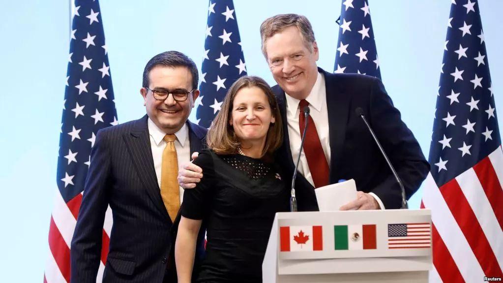 北美自贸协议谈崩川普路线图基本夭折中国收双重利好