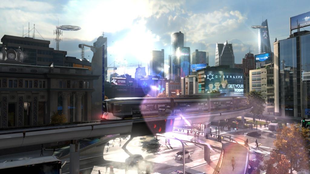 PS4全新互动式观影体验 《底特律:成为人类》