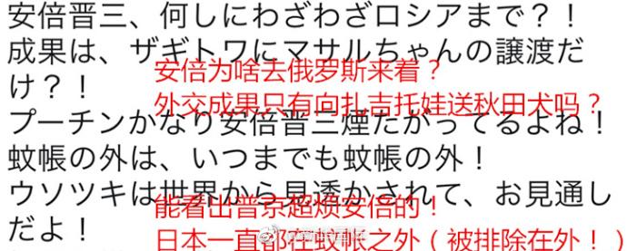 """安倍见普京被晾48分钟 日网友:普京""""看不上""""他"""